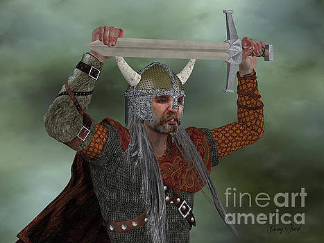 Corey Ford - Viking Man with Sword