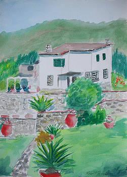 Villa in Monterosso Cinque Terre by Robert P Hedden