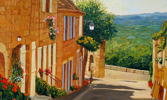Village de France by Liliane Fournier