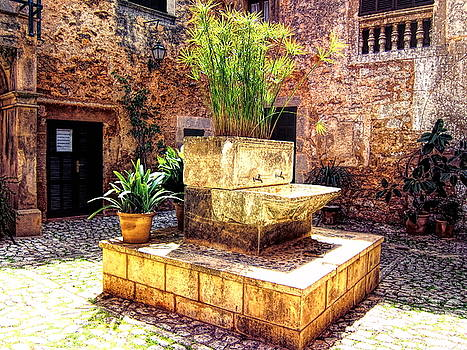 Village well in Santanyi by Andreas Thust
