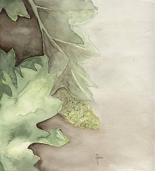 Vine blossoms by Annemeet Hasidi- van der Leij