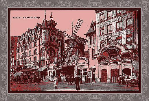 Vintage 1900s Paris by Robert G Kernodle