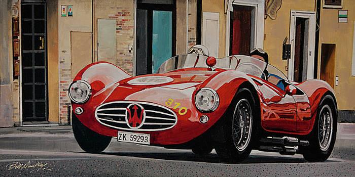 Vintage 1954 Maserati by Bill Dunkley