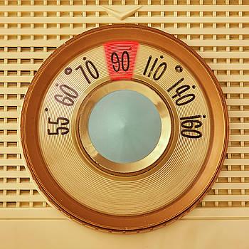 Vintage AM Radio Dial by Jim Hughes