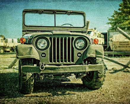 Vintage Army Jeep by Emily Kay