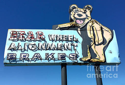 Gregory Dyer - Vintage Bear Sign