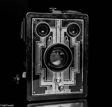 Vintage Box Camera by Mike Ronnebeck