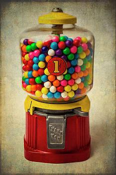 Vintage Bubblegum Machine by Garry Gay