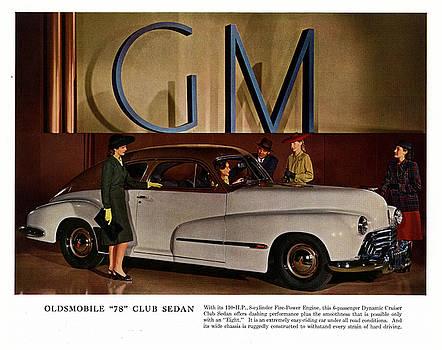 Vintage car ads by Allen Beilschmidt