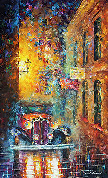 Vintage Car Collection piece 10 by Leonid Afremov