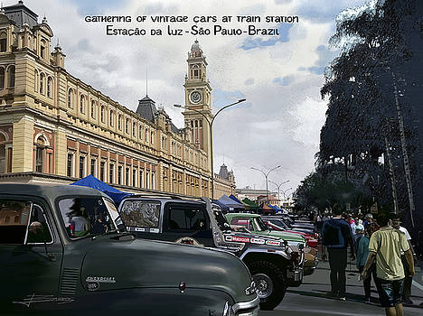 Vintage Cars by Nelson Barros