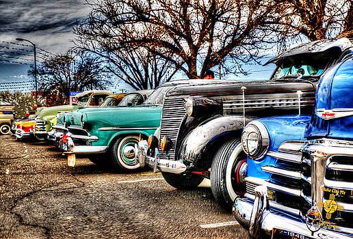 Vintage Cars by Tony Lopez