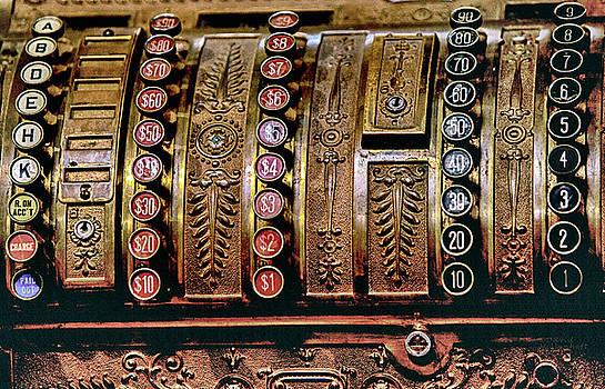 Vintage Cash Register by David Millenheft
