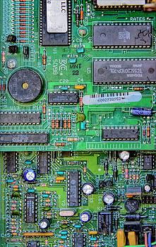 Vintage Circuit Board by LeeAnn McLaneGoetz McLaneGoetzStudioLLCcom