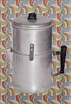 Vintage Coffee Pot by Susan Leggett