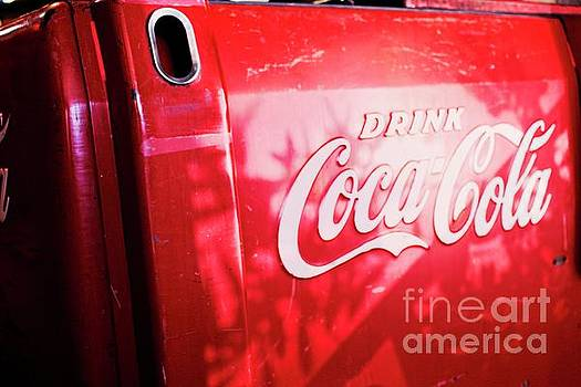 Vintage Coke Ice Chest by Ella Kaye Dickey