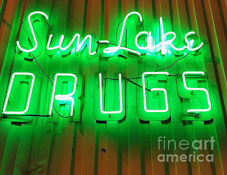 Gregory Dyer - Vintage Drugstore Sign