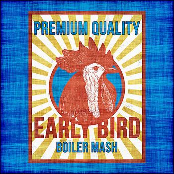 Vintage Early Bird Boiler Mash Feed Bag by Joy McKenzie