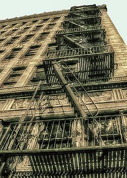 Vintage Emergency Exit by Joseph Hollingsworth