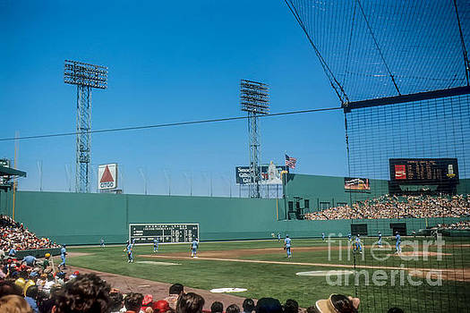 Vintage Fenway Park by Thomas Marchessault