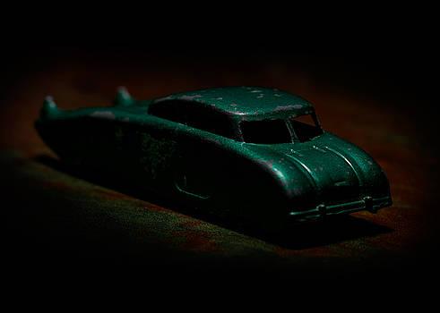 Art Whitton - Vintage Green Futuristic Toy Car 2