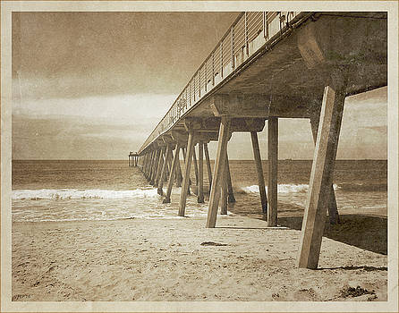 Vintage Hermosa Beach, California by Phil Perkins