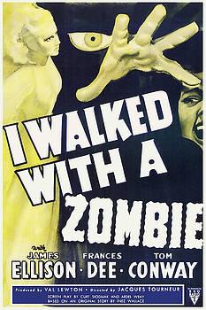 Vintage I Walked With a Zombie 1950 Poster by Joy McKenzie