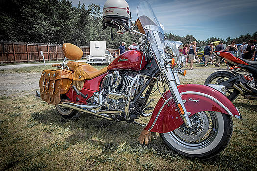 Vintage Indian by Paul Barkevich