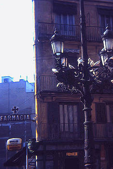 Cindy Boyd - Vintage Italian Street Lamp