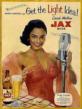 Vintage Jax beer ad by Allen Beilschmidt