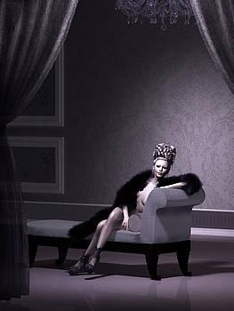 Vintage Lavender Boudoir by Britta Glodde