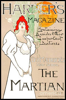 Vintage Magazine Cover 1898 by Padre Art
