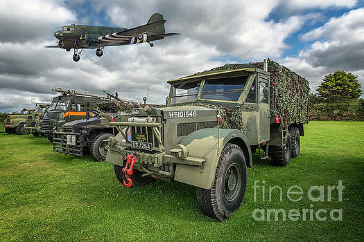 Vintage Military Transport by Adrian Evans