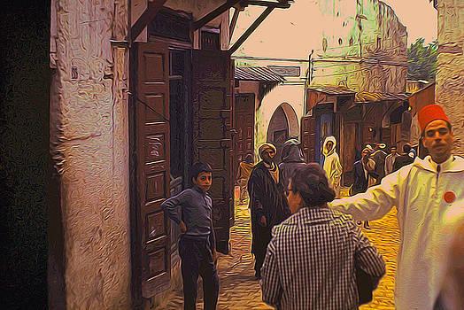 Cindy Boyd - Vintage Morocco Street