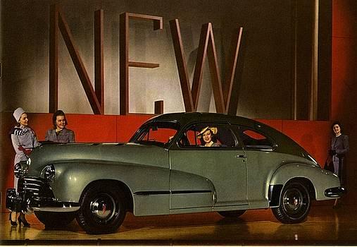 Vintage Oldsmobile ad by Allen Beilschmidt