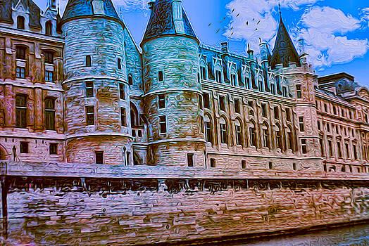 Cindy Boyd - Vintage palace of justice in paris