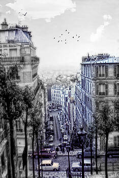 Cindy Boyd - Vintage Paris From Above