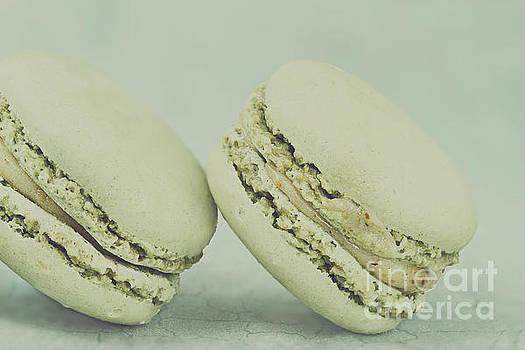 Vintage  Pistachio Macarons by Stephanie Frey