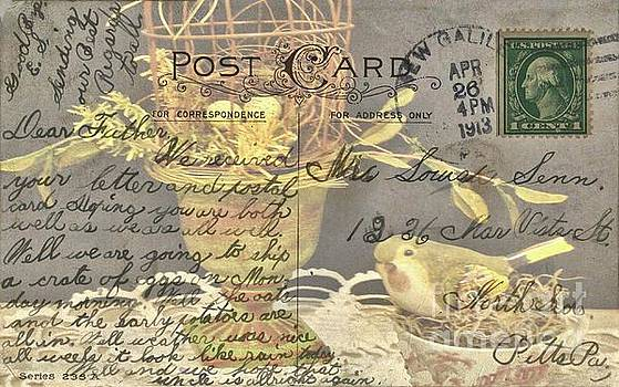 Vintage Post Card from 1913 by Janette Boyd and Janie Chase