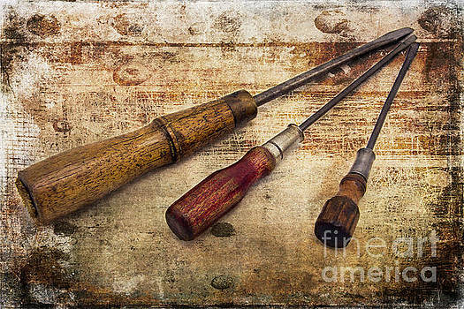 Vintage Screwdrivers by Cindi Ressler