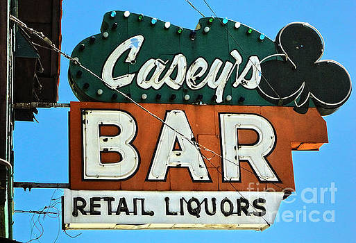 Gregory Dyer - Vintage Sign - Caseys bar