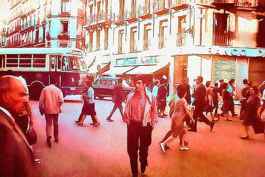 Cindy Boyd - Vintage Street Crossing 1969