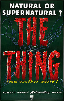 Vintage The Thing From Another World Poster by Joy McKenzie
