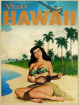 Vintage Travel Hawaii by Cinema Photography