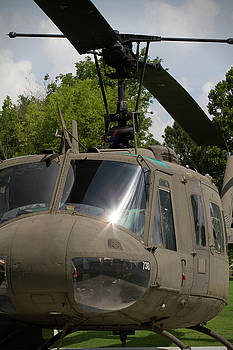 Vintage UH-1 Huey Army Helicopter by Kathy Clark