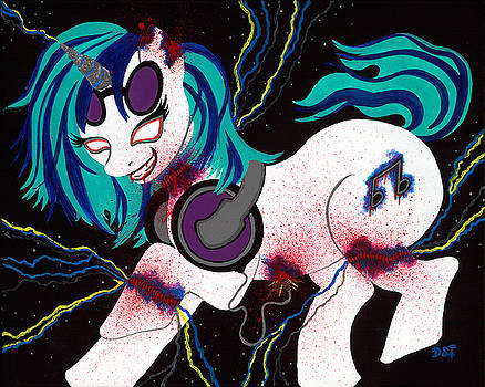 Vinyl Gashes  by Destiny Surreal
