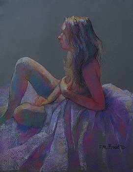 Violet Beauty SOLD by Evelyn  M  Breit