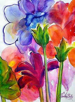 Violet Petals Like This by Therese Fowler-Bailey
