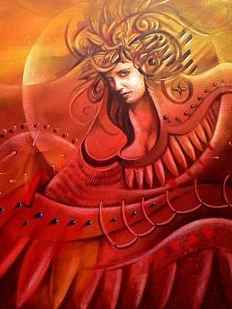 Virgen Musica del sol by Jorge Porras