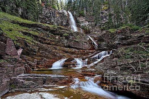 Adam Jewell - Virginia Falls Cascades Landscape